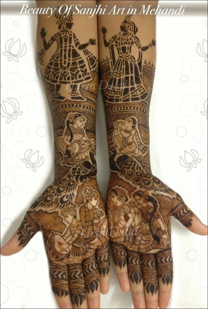 Harin Dalal Mehndi - Sanjhi Art