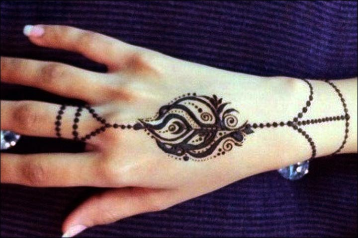 Ring Mehndi Designs - Sleek And Quick