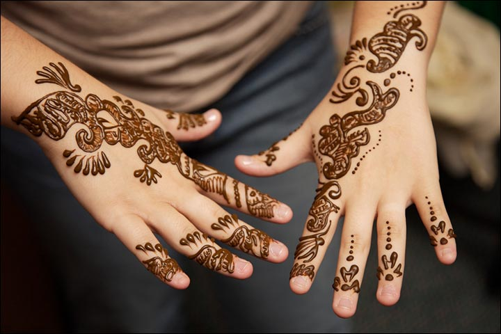 Pakistani Mehndi Designs - Small Hands; Big On Style!