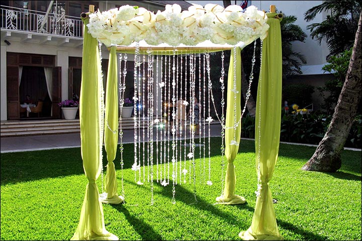 Wedding Arch Decorations - Summer Green Arch