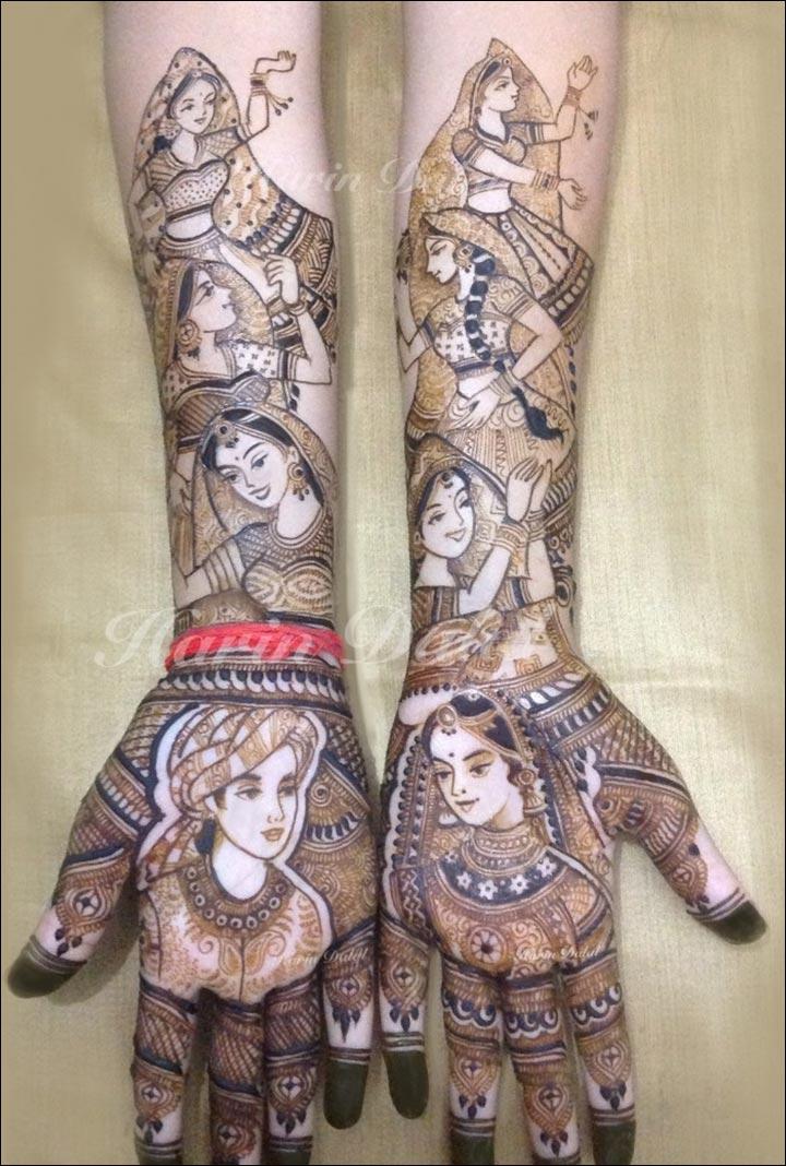 Harin Dalal Mehndi - The Joyous Bride