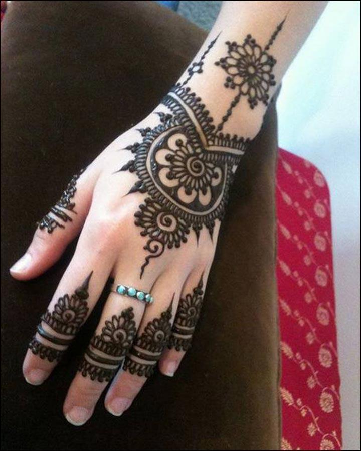 Pakistani Mehndi Designs - Trend Alert