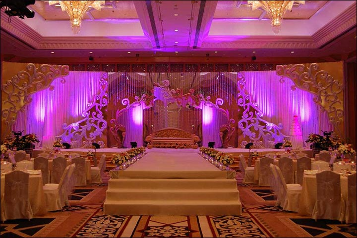 Wedding Backdrop Ideas - Wedding Reception Style Backdrops