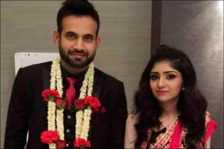 Irfan Pathan Marriage - Irfan Pathan And Safa Baig's Official Wedding Pic