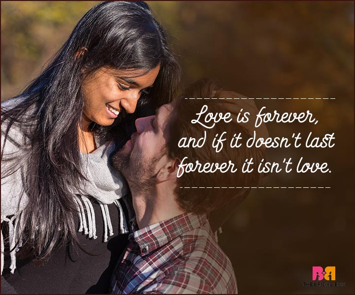 Love You Forever Quotes - If It Doesn't Last