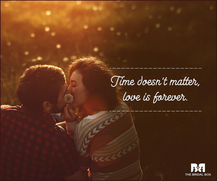 Love You Forever Quotes - Time
