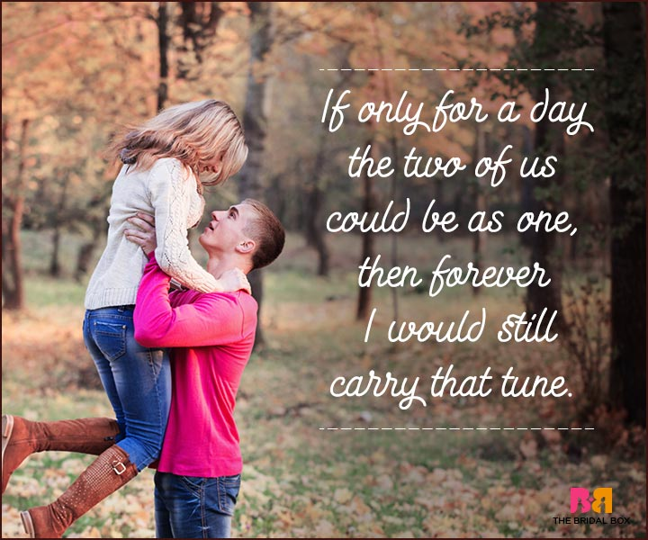 Love You Forever Quotes - If Only