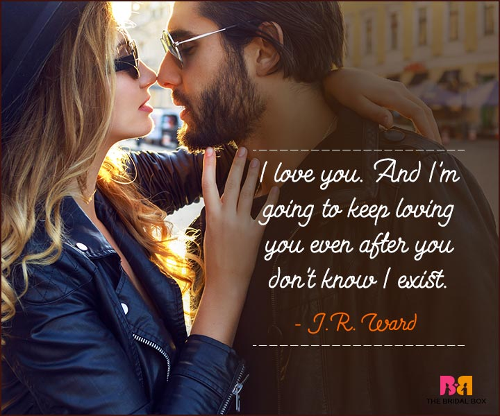 Love You Forever Quotes - J R Ward