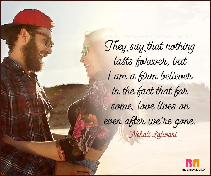 Love You Forever Quotes - Nehali Lalwani