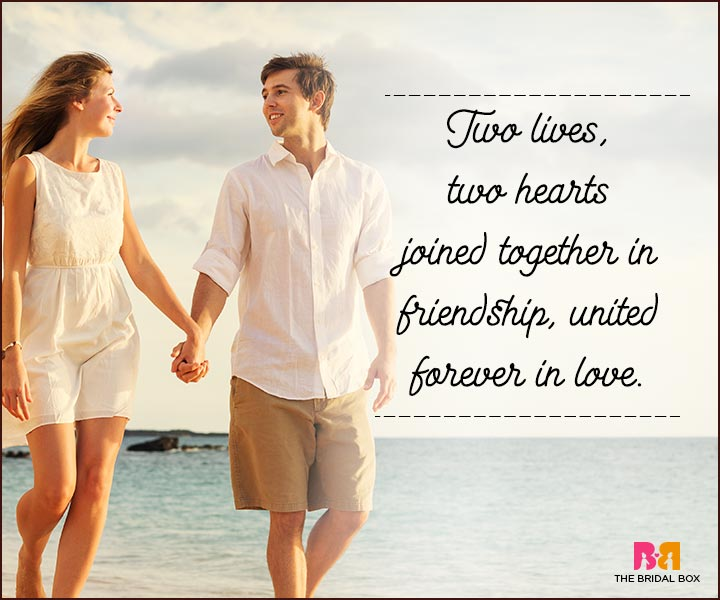 Love You Forever Quotes - Two Hearts