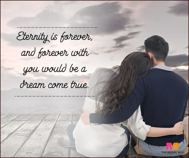 Love You Forever Quotes - Eternity
