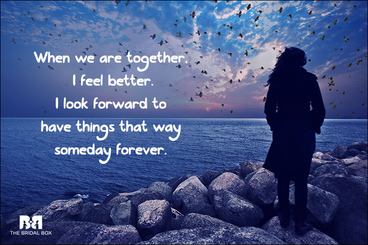 One Sided Love SMS - When We Are Together