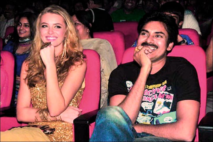 Pawan Kalyan Marriage - Pawan Kalyan With Danah Marks