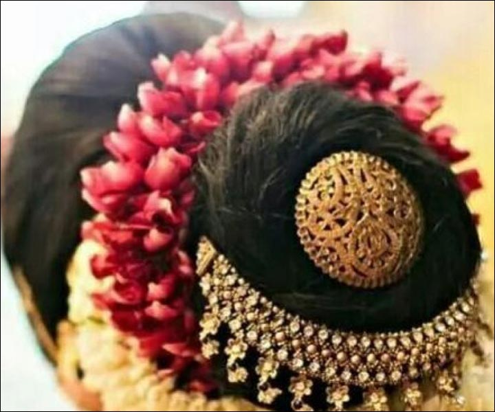 Flower decoration for hair tips and styles for your wedding Home decoration tips in marathi