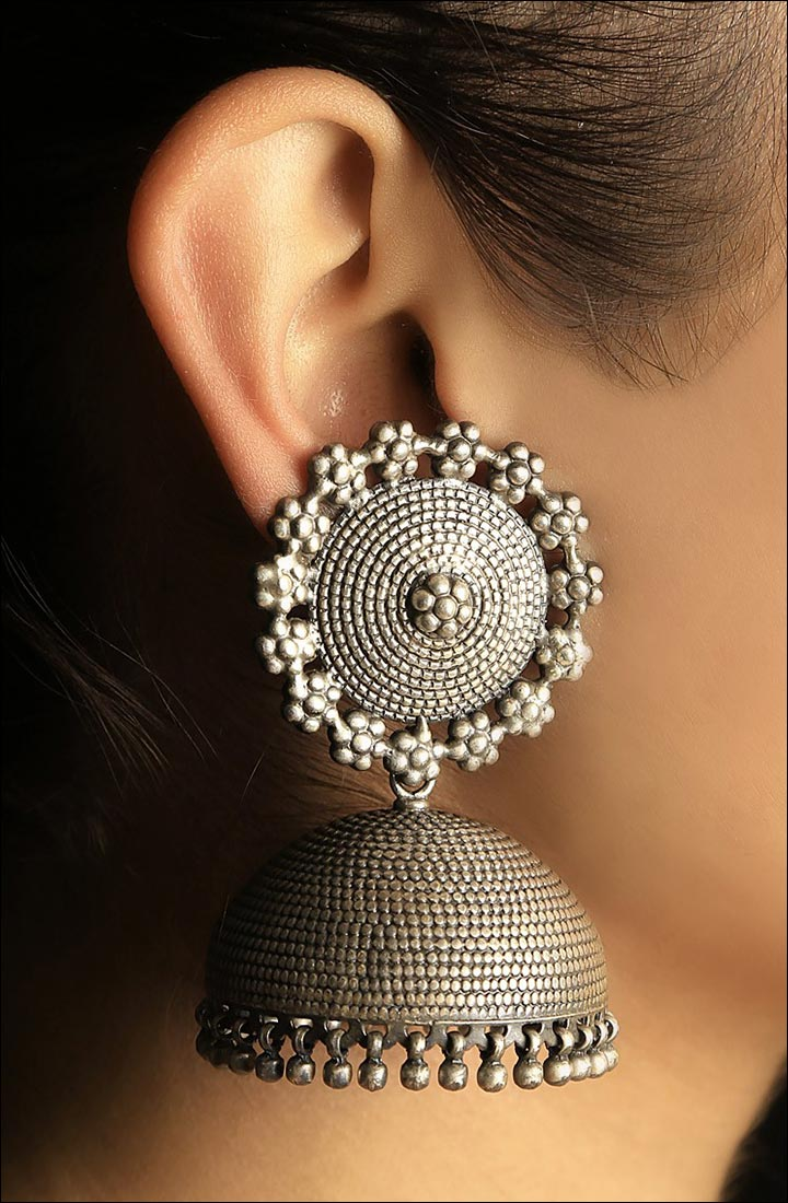 Saree Accessories - Jhumkas