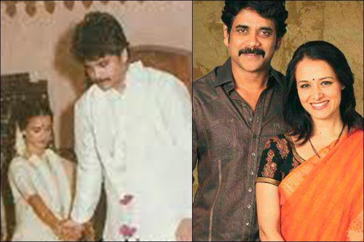 Nagarjuna Wedding Weds Amala Mukherjee