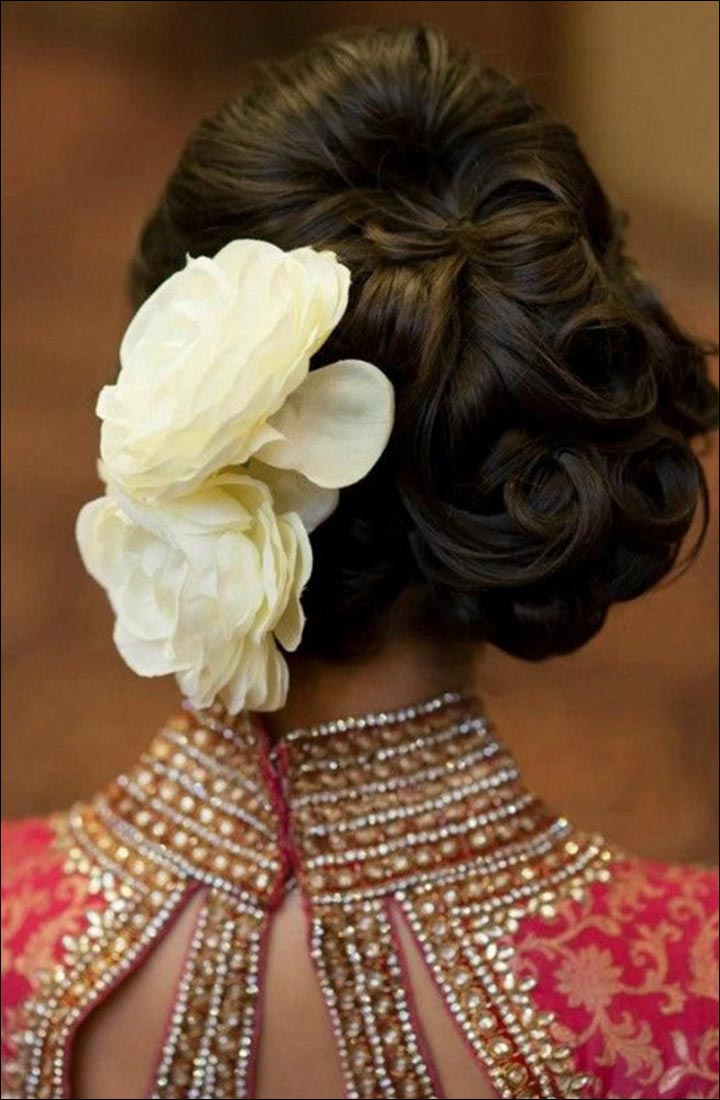 Flower Decoration For Hair - Say It With The Roses
