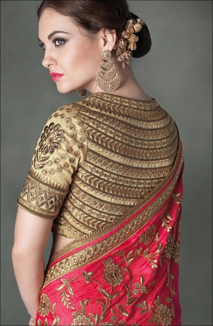 Saree Accessories - Trendy Blouse
