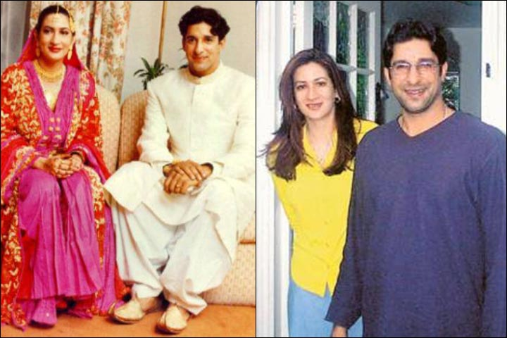 Wasim Akram Marriage And Huma Mufti In Earlier Days
