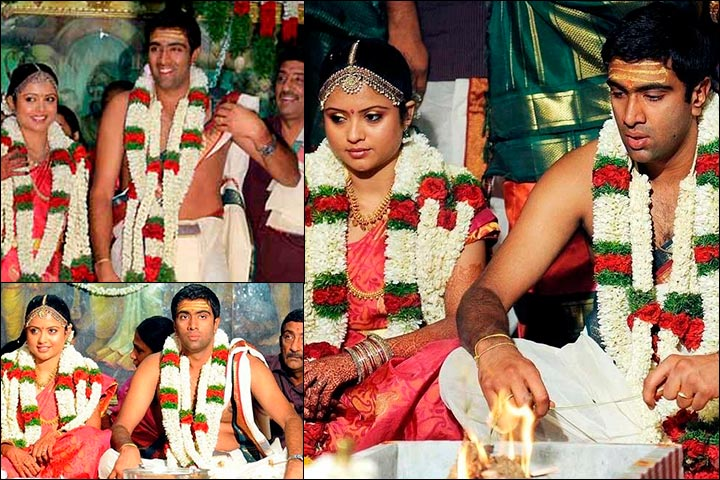 R Ashwin And His Wife Ravichandran Ashwin We...