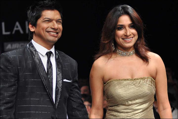 Shaan's Marriage - Shaan And Radhika Walk The Runway At The Lakme Fashion Week Winter Festive 2010