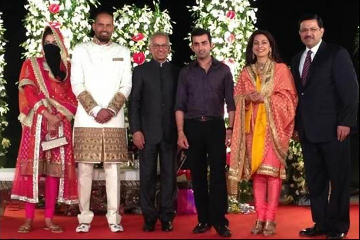 Yusuf Pathan S Marriage And Afreen Khan At Their Wedding Reception With Star Guests