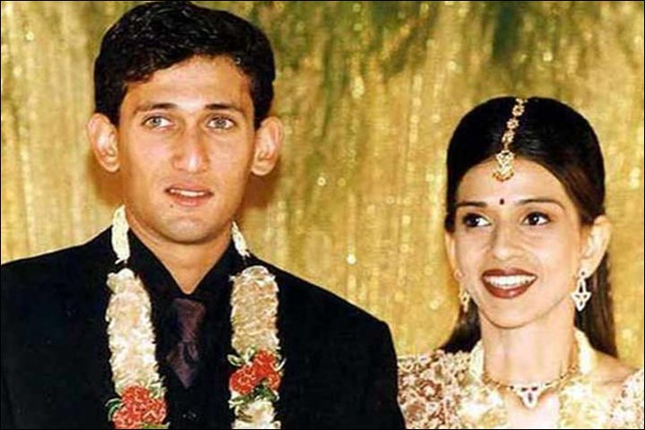 Ajit Agarkar's Marriage - Ajit Agarkar And Fatima Ghadially's Official Wedding Pic