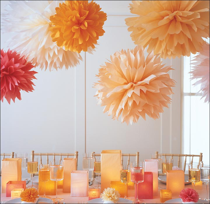 Colourful-Pom-Poms-wedding-house-decoration