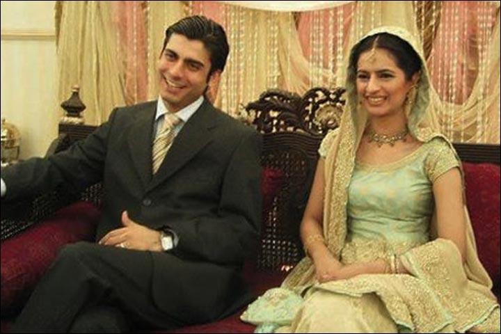 Fawad Khan's Marriage - Fawad And Sadaf At Their Reception
