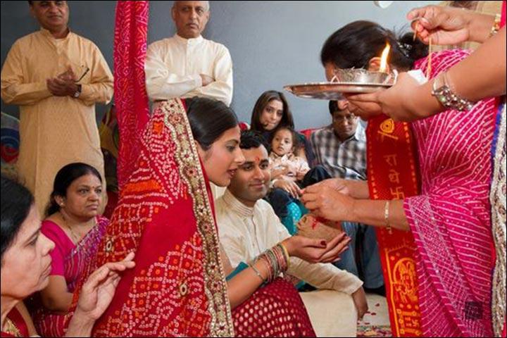 gujarati wedding - Gor-Dhana