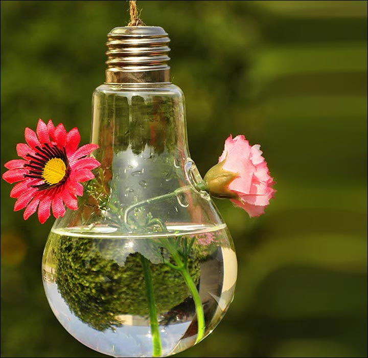 Hanging-Bulb-Flower-Vase-wedding-house-decoration