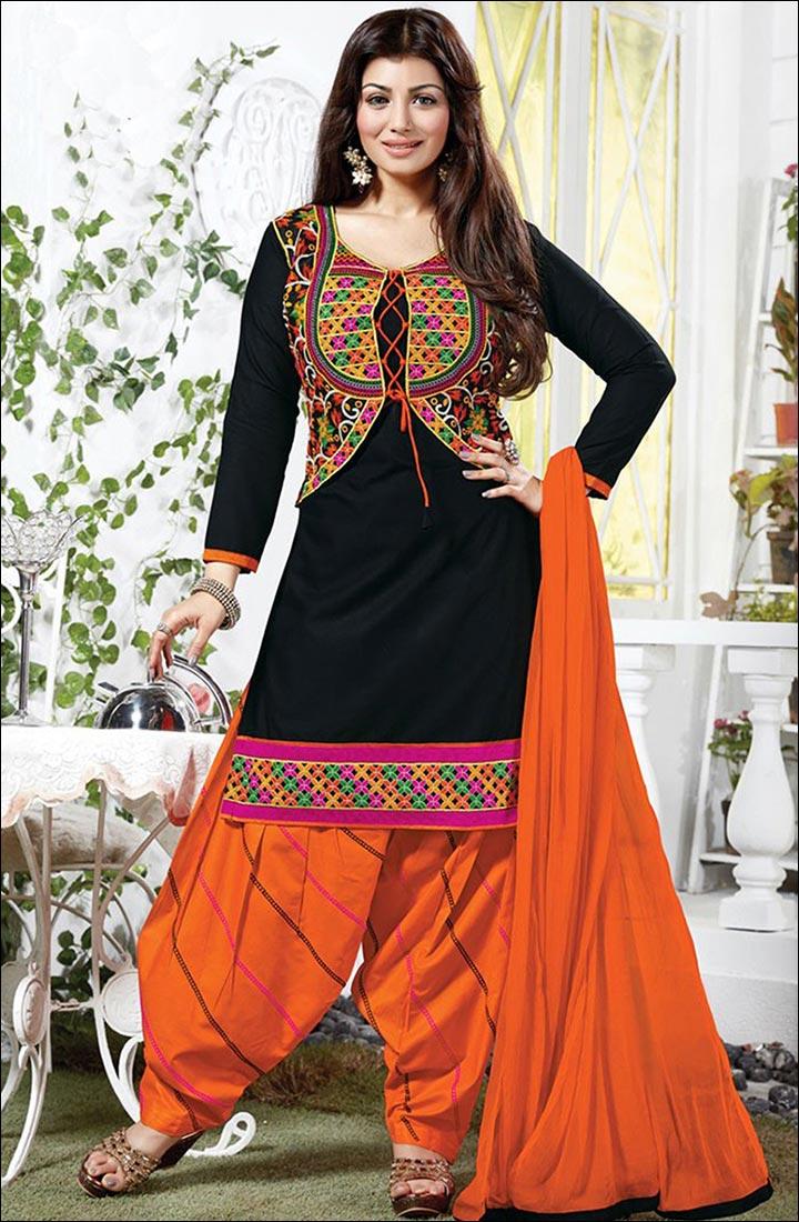 Jacket Styled Salwar kameez