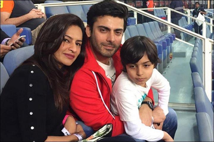 Fawad Khan's Marriage - Fawad And Sadaf Seen With Ayaan