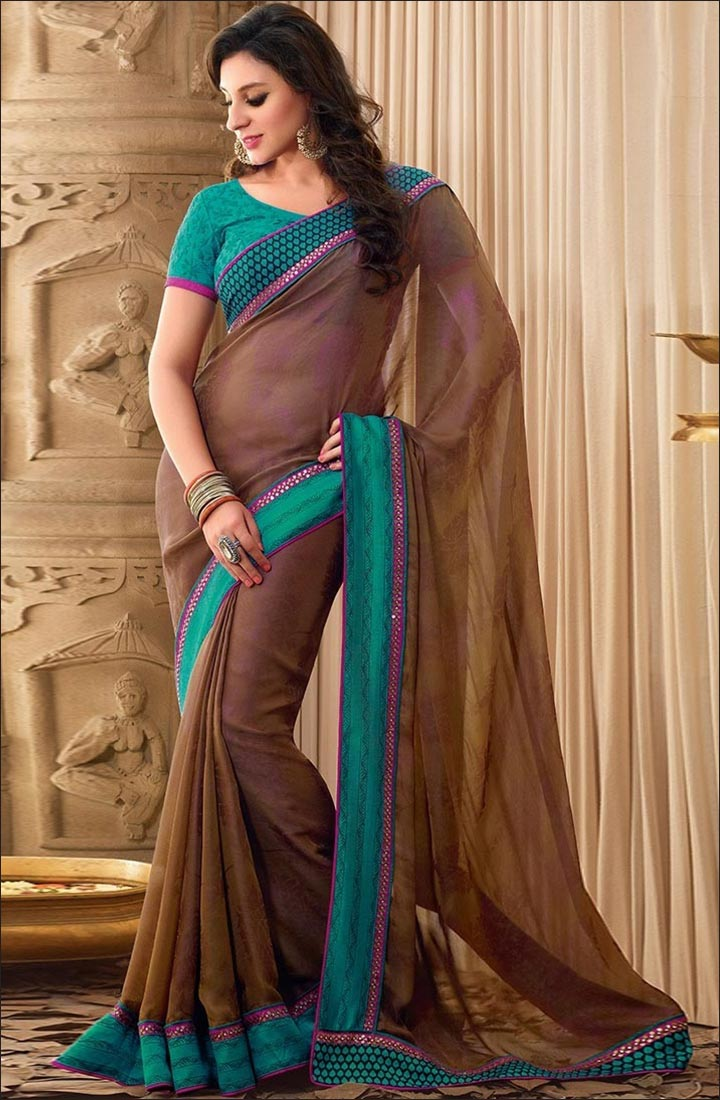 How To Drape A Saree To Look Slim - Opt For A Body Hugging Fabric