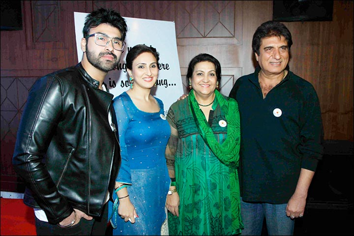 Raj-Babbar-family