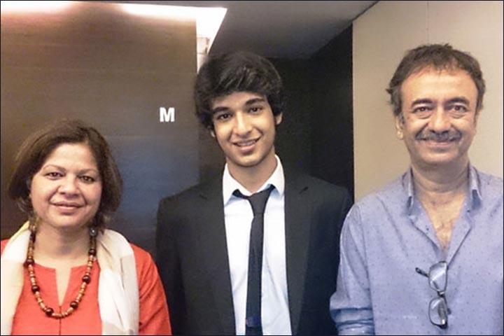 Rajkumar Hirani's Marriage - Hirani And Manjeet With Their Son Vir