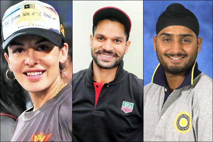 Shikhar Dhawan's Marriage - Harbhajan Singh, The Connection Between Shikhar Dhawan And Ayesha Mukherjee