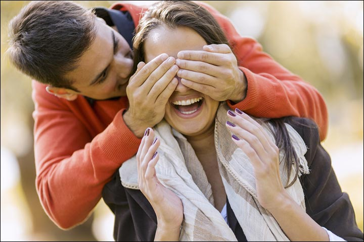 signs that you are always on his mind - Surprise!-Surprise-