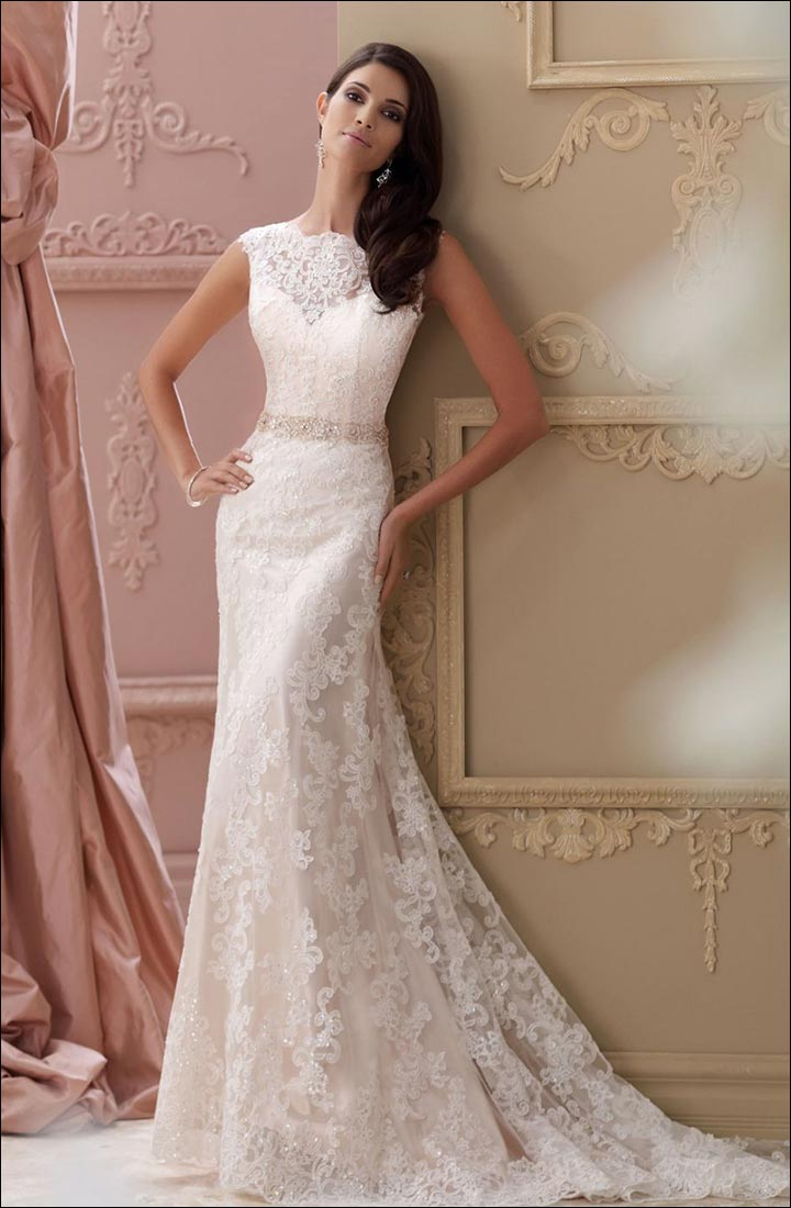 Wedding Dress Styles For Body Types According To Your Body Type