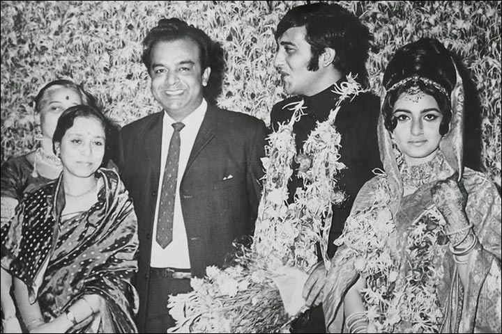 Vinod Khanna's Marriage - The-College-Sweetheart