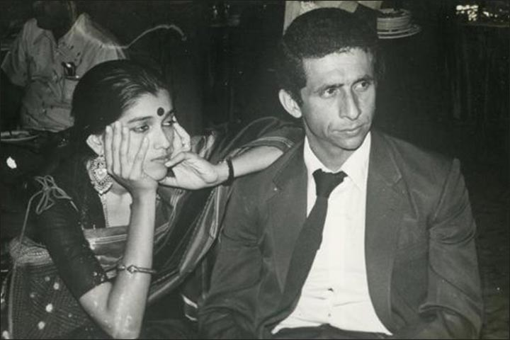 Naseeruddin Shah's Marriage - Naseeruddin And Ratna Respond To The Paparazzi