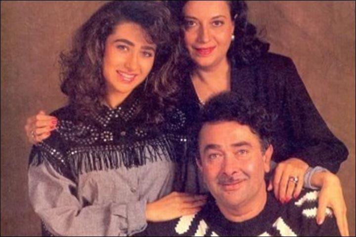 Randhir Kapoor's Marriage - Karishma, Randhir and Babita