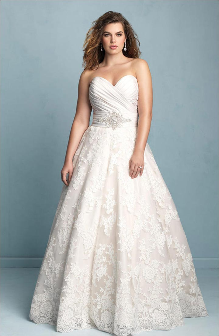 Wedding Dress Styles For Body Types: According To Your Body Type