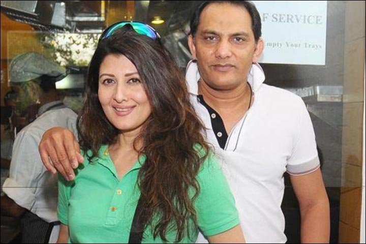 Azharuddin's Marriage - Azharuddin And Sangeeta Bijlani