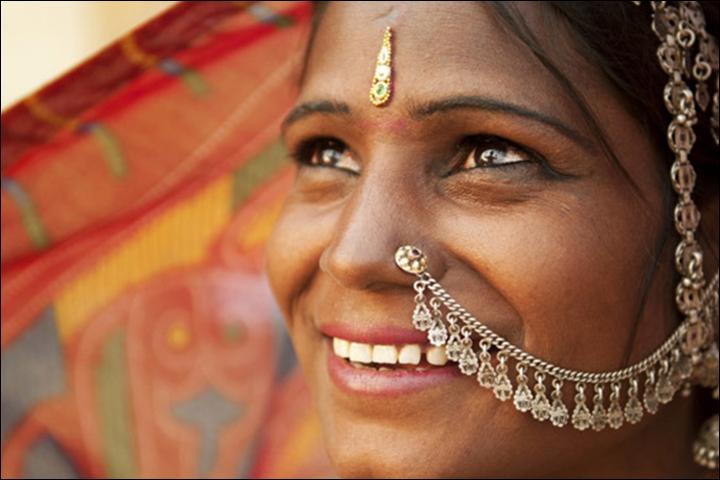 Bridal Bindi Designs - Beaded Bindi
