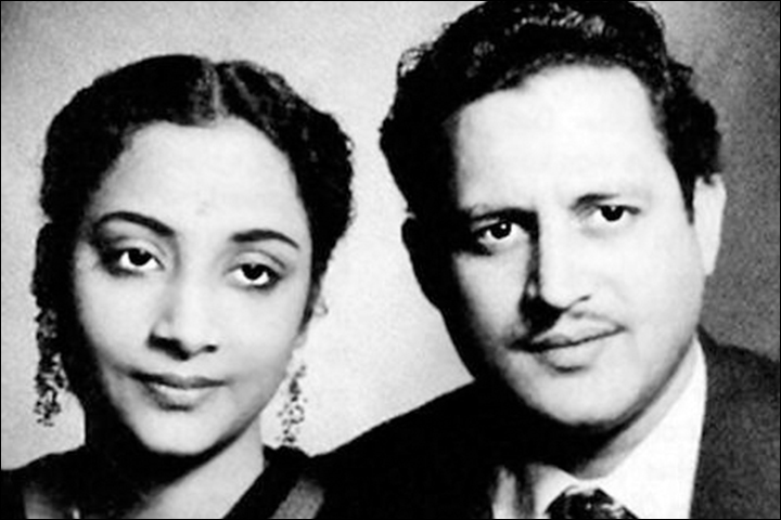 Guru Dutt's Marriage - Guru Dutt And Geeta Roy