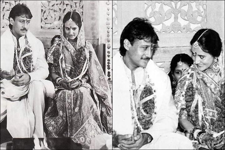 Image result for jackie shroff ayesha wedding