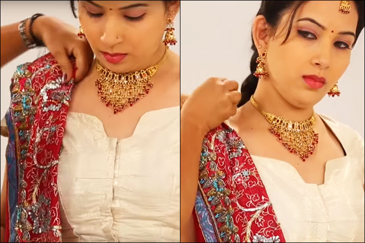 how-to-wear-gujarati-saree-style--3