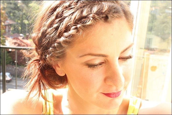 Double-Braided-Hairdo--short-hair-how-to-hairstyles