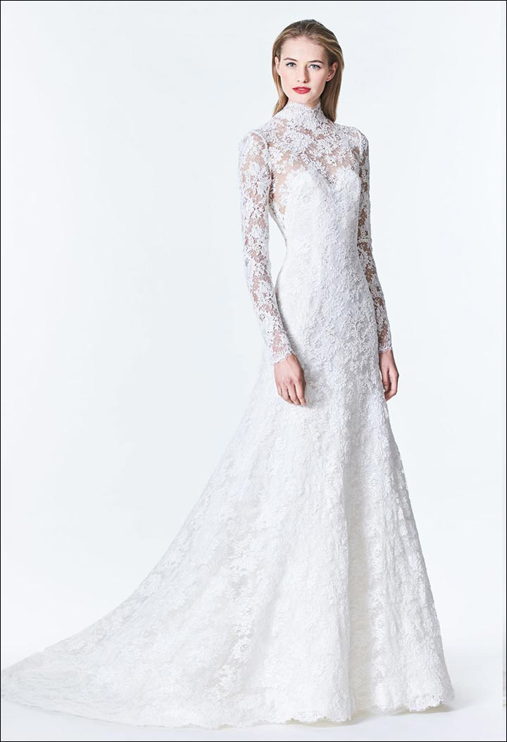 High-Neck-Embroidered-Lace-Gown